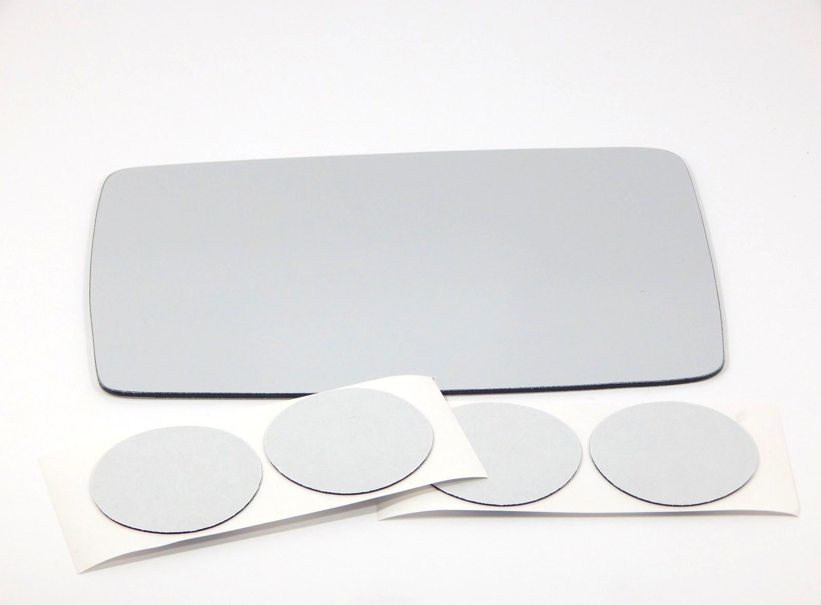 Fits 06 10 Hummer H3 Left Driver Replacement Mirror Glass Lens W Adhesive Usa