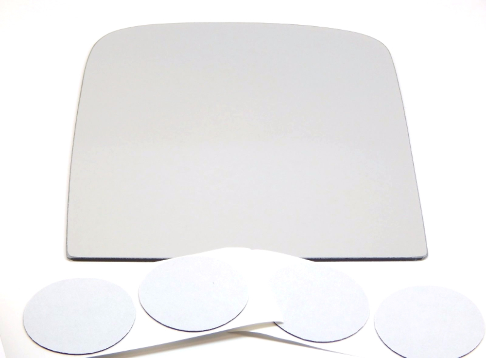 Fits 06-15 Silverado,  Sierra Left Driver Upper Tow Mirror Glass Lens Only