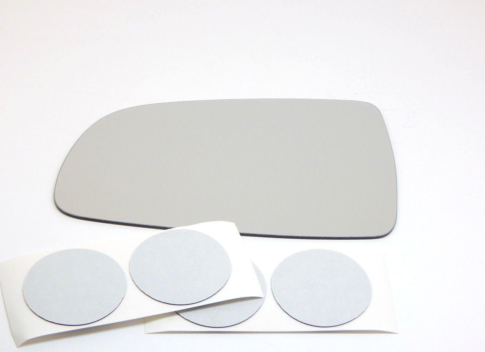 07-11 Aveo, Wave, Swift Sedan Left Driver Mirror Glass Lens w/Adhesive USA