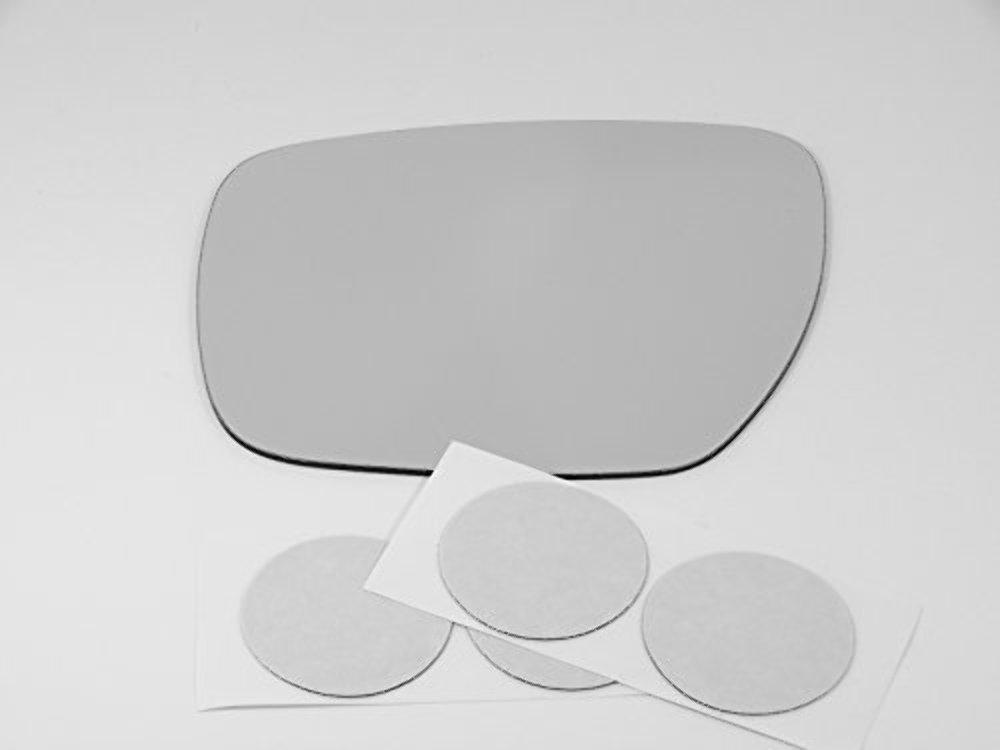 07-12 Mazda CX-7, 07-09 CX-9, 06-15 Mazda 5 Left Driver Mirror Glass Lens w/Adhesive USA non heated