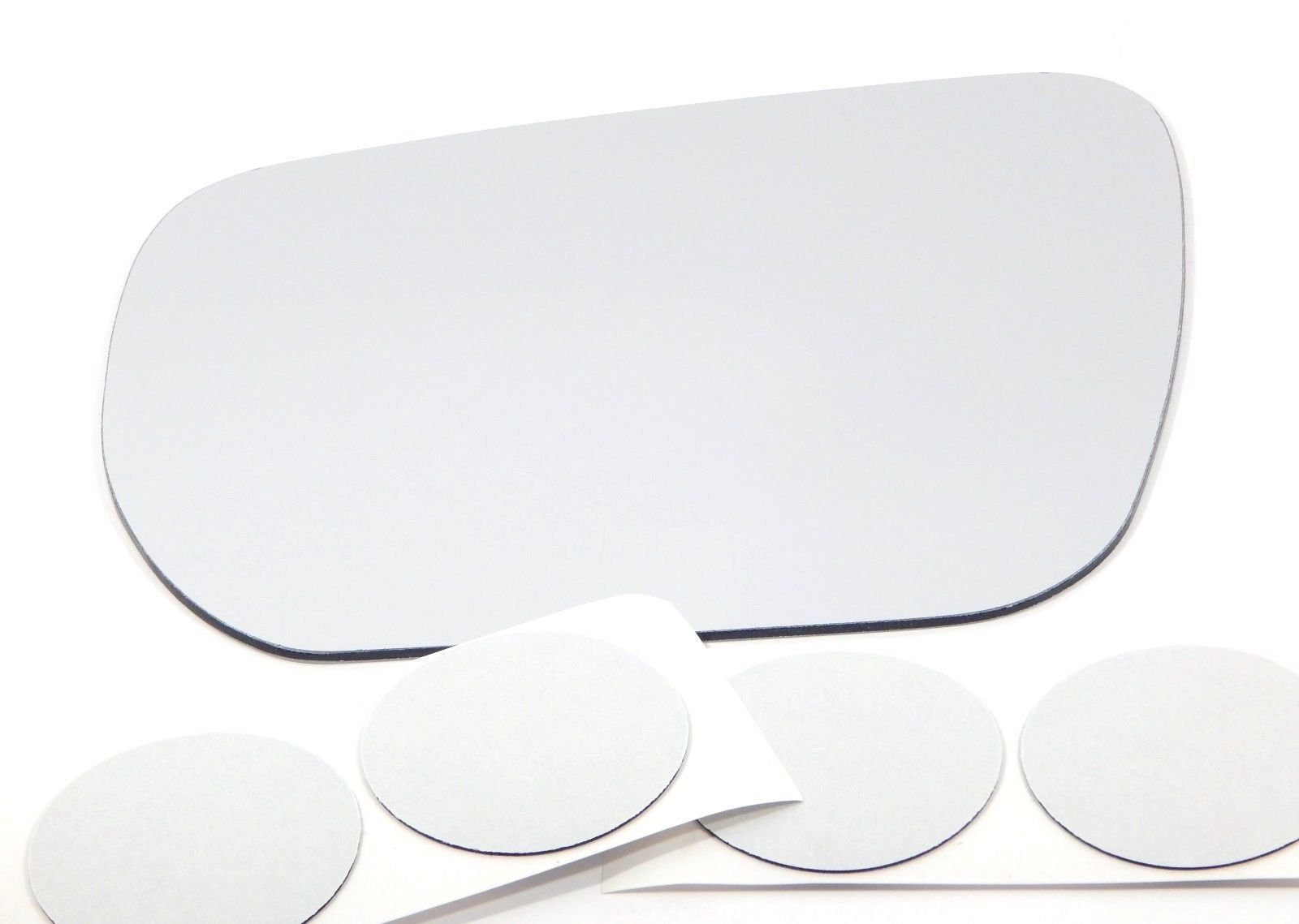 Fits 06-13 SZ Grand Vitara Left Driver Mirror Glass Lens w/Adhesive  USA