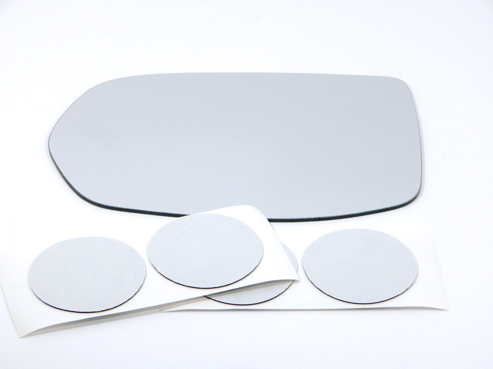 Fits 07-11 CRV Left Driver Mirror Glass Lens w/Adhesive