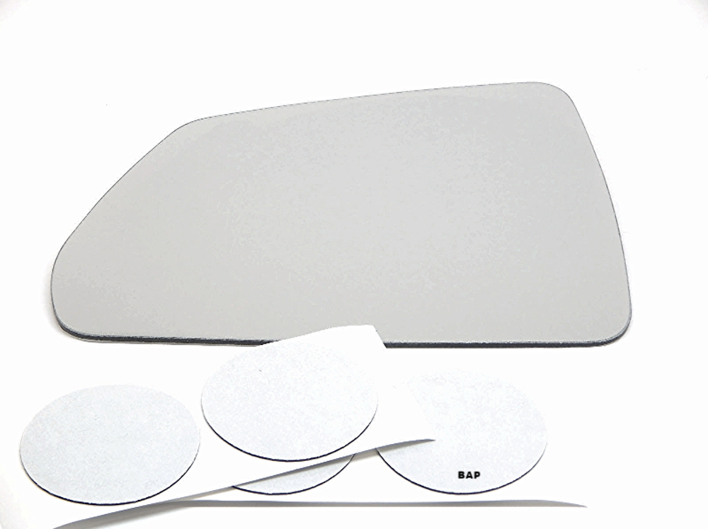 Fits 08-13 Cadillac CTS, 14-15 CTS Wagon Left Driver Side Mirror Glass Lens