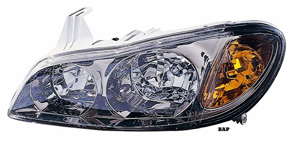 Fits 00-01 INFINITI I30 LEFT DRIVER HALOGEN HEADLAMP ASSEMBLY With/SMOKED LENS