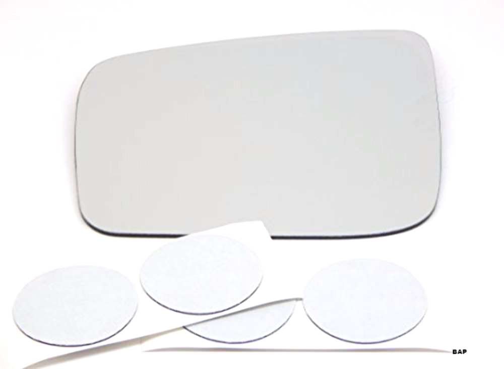 Fits 08-14 Rogue 14-15 Select Left Driver Heated Mirror Glass Lens w/Adhesive