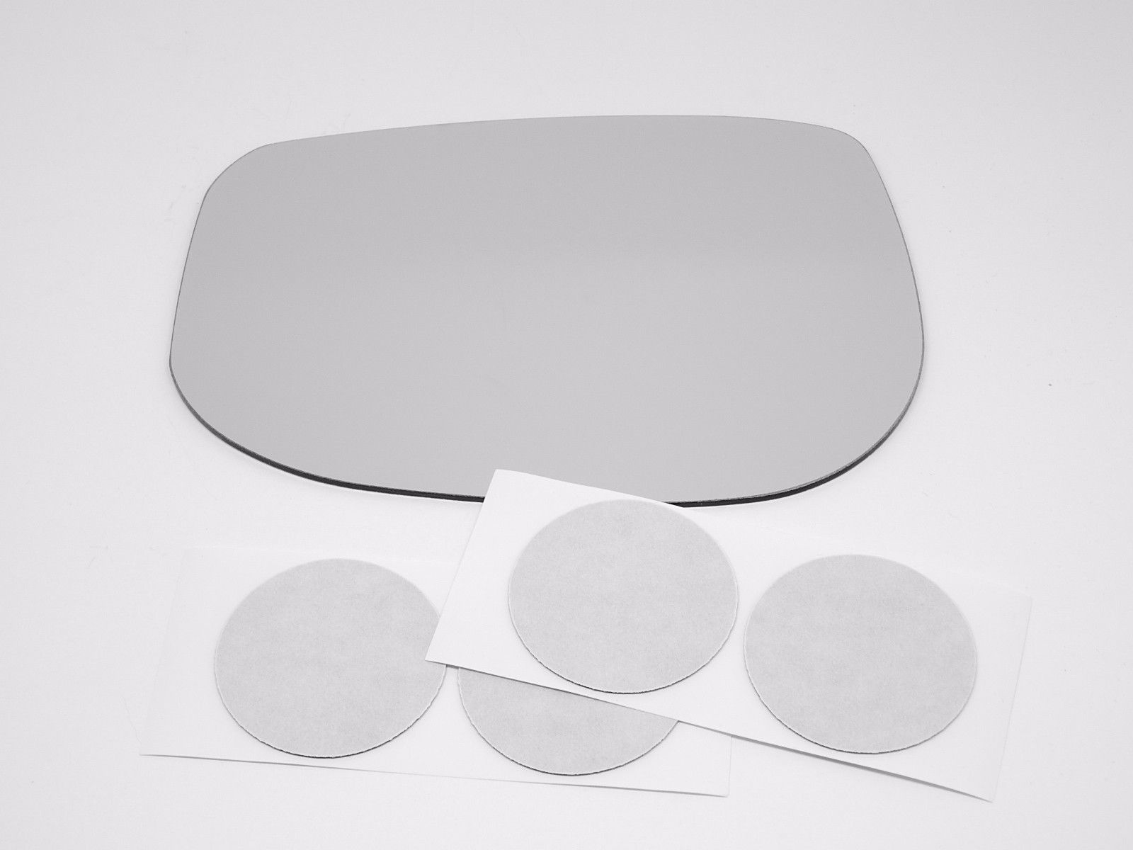 Fits 09-14 Honda Fit Left Driver Mirror Glass Lens w/Adhesive  USA