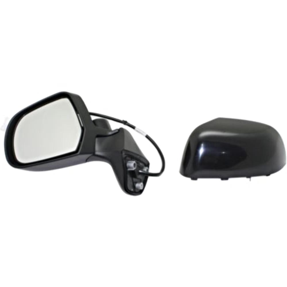 Fits 14-15  Versa Note Left Driver Power Mirror Unpainted No Ht/Camera