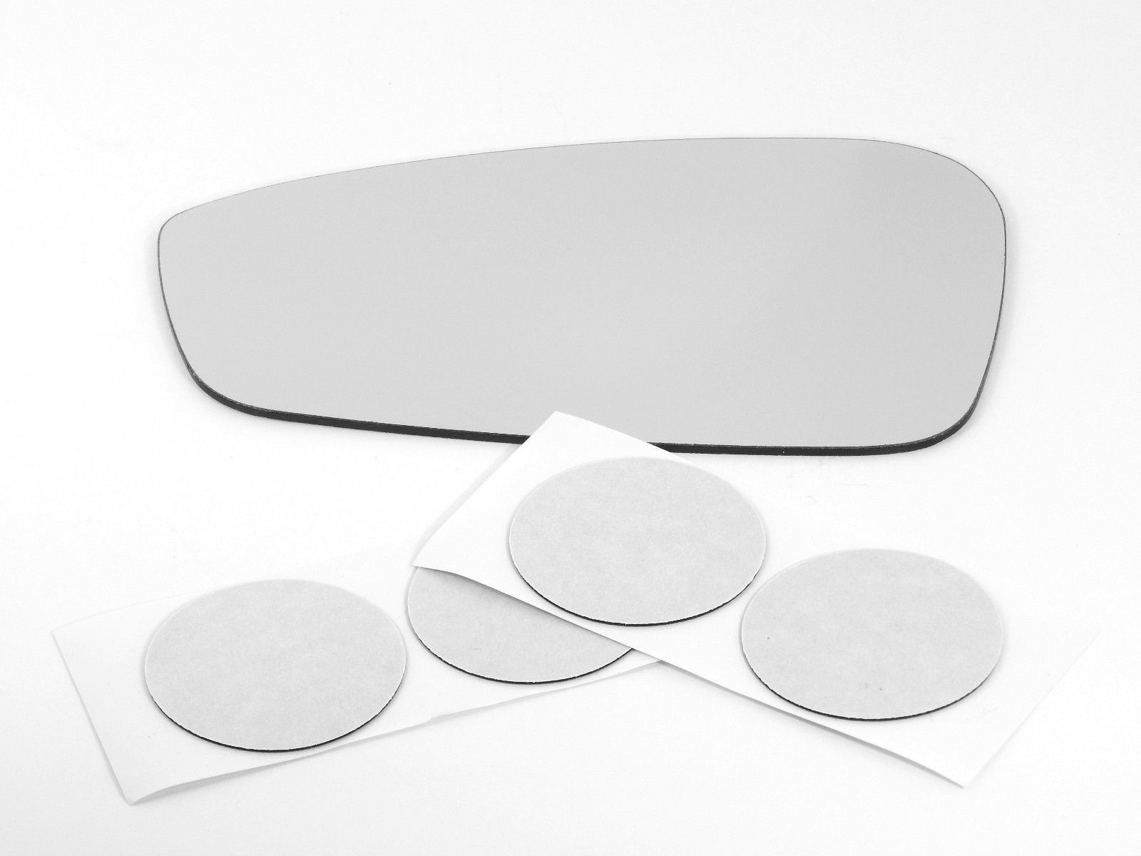 Fits 11-14 Ford Fiesta Left Driver Manual Mirror (Glass Lens) w/ adhesive USA
