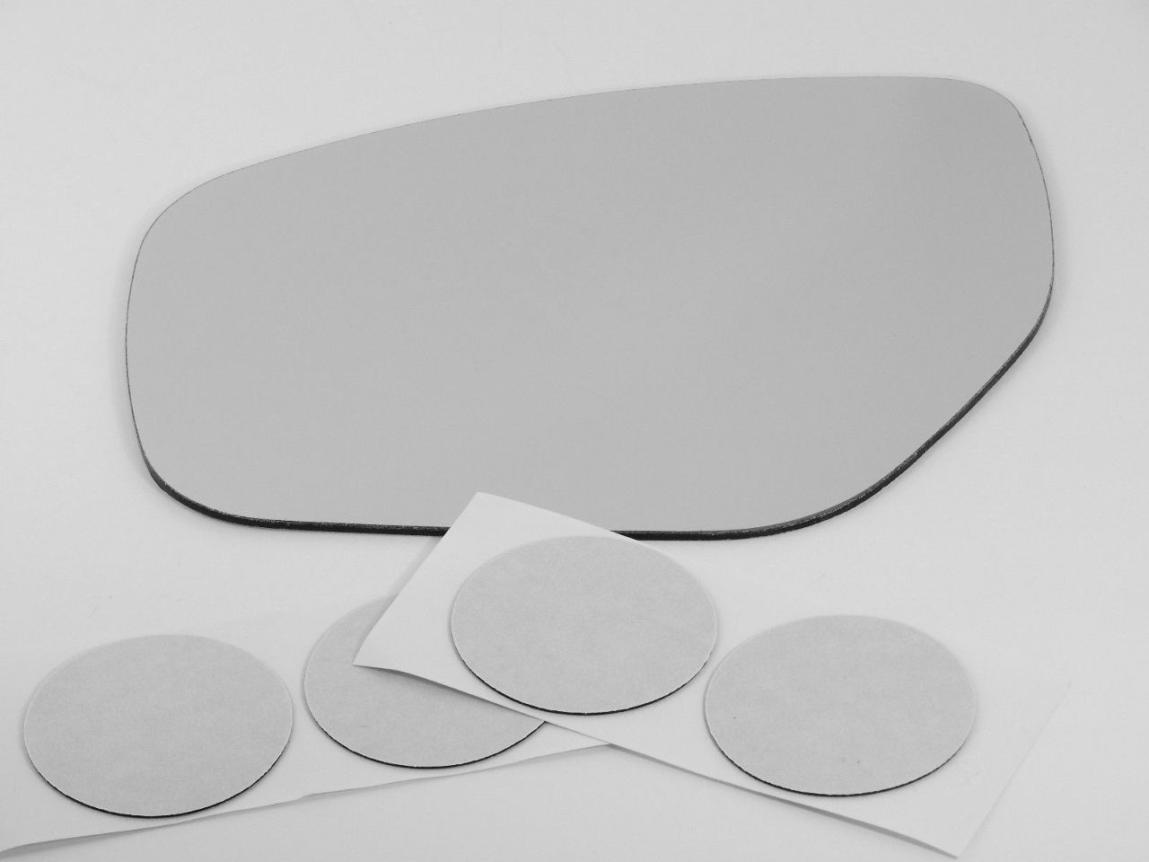 Fits 10-15 Mazda CX-9 Left Driver Mirror Glass Lens w/Adhesive