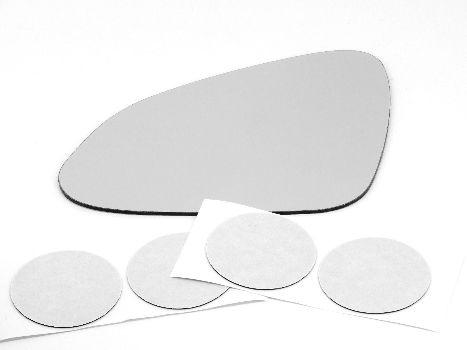Fits 11-17  Regal Left Driver Mirror Glass Lens w/ Adhesive USA