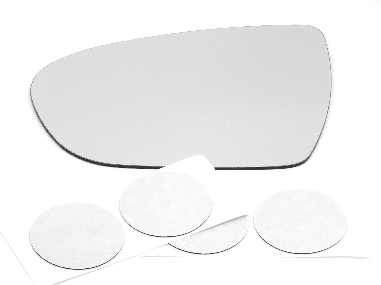 Fits 11-15 Optima Left Driver Mirror Glass Replacement Lens  non heated  USA