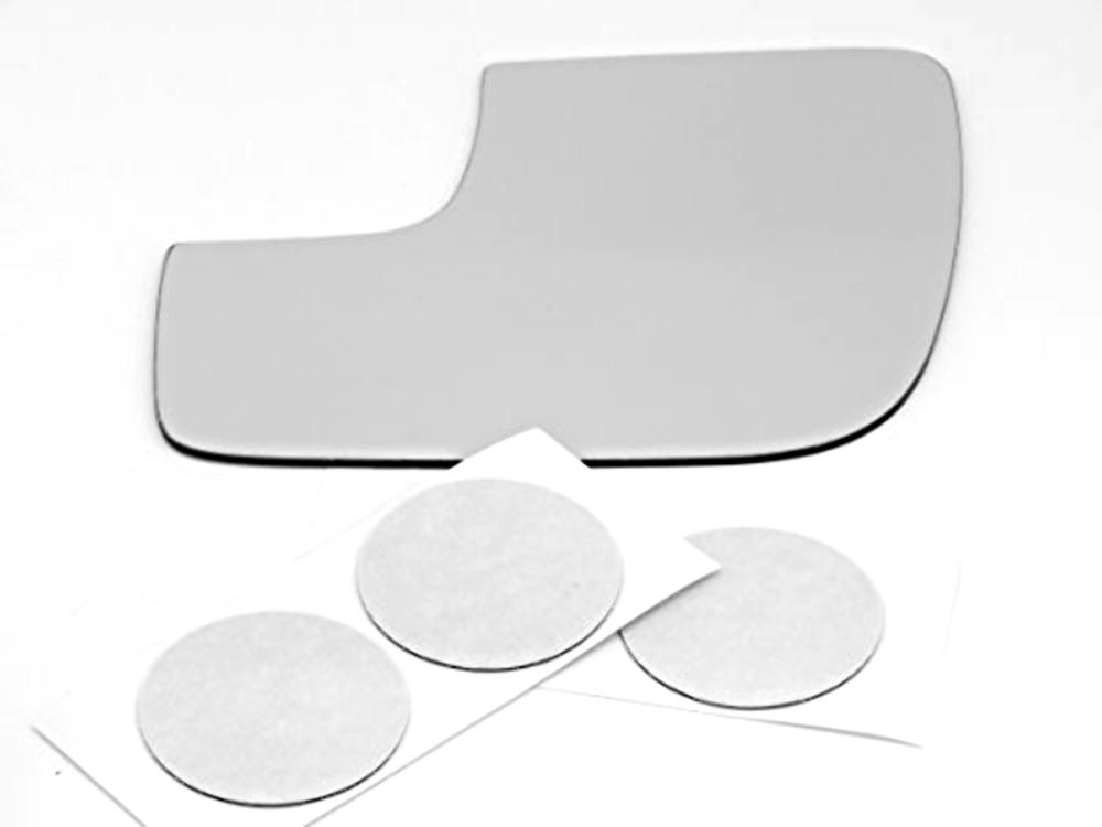 Fits 11-19 Explorer Left Driver Lower Manual Mirror Glass Lens w/Adhesive USA no backing plate no Spot Mirror