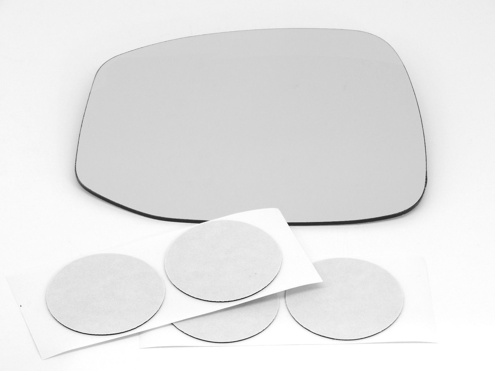 Fits 12-13 Civic Left Driver Heated Mirror (Glass Lens) w/ Adhesive non Hybrid