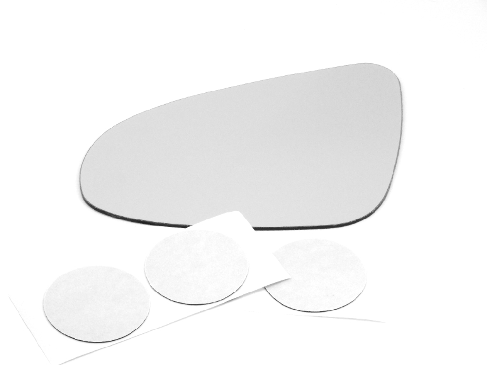 Fits *12-18 Toyota Yaris Left Driver Mirror (Glass Lens) w/Adhesive USA
