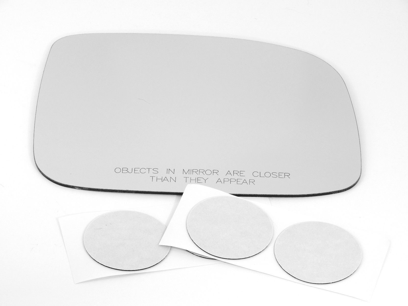 Fits 04-12 Colorado / Canyon Right Pass Convex Mirror Glass Lens w/Silicone