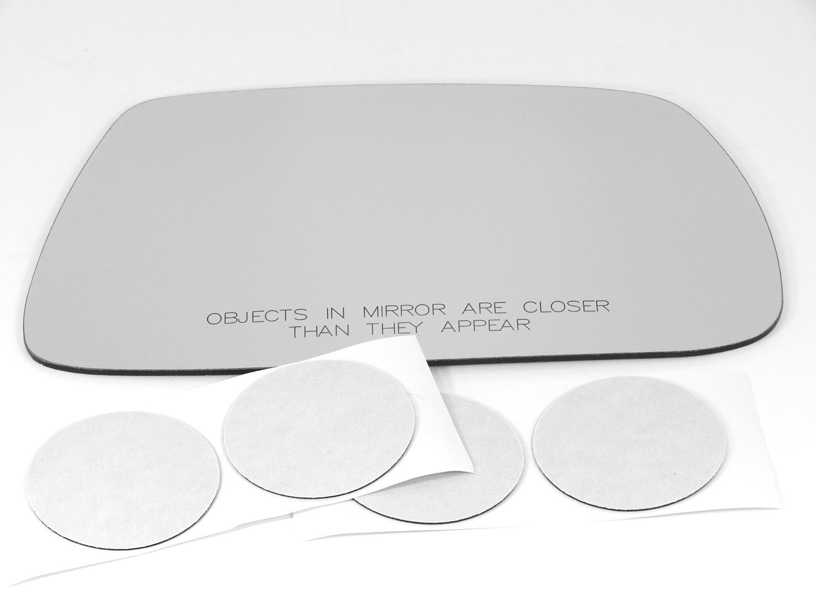 Fits 05-10 Jeep Grand Cherokee Right Pass Convex Mirror Glass w/Adhesive  USA