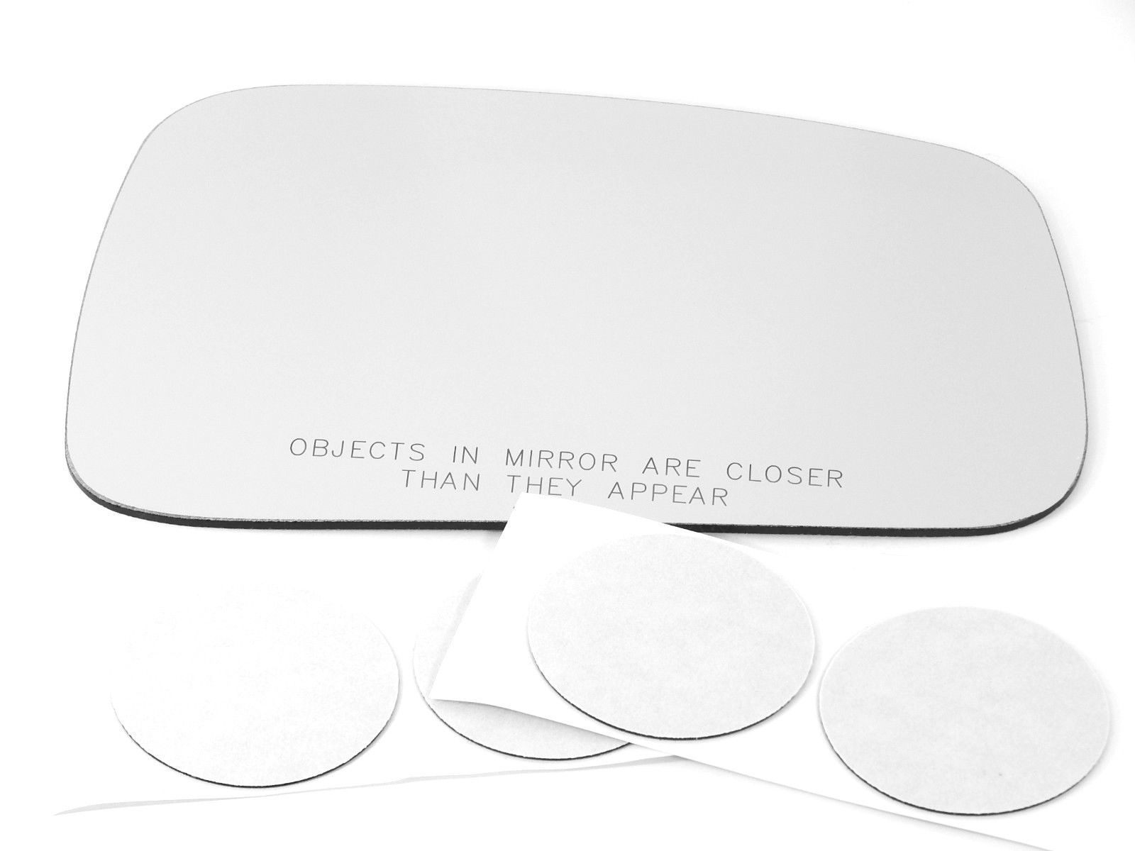 Fits 06-11 HHR Right Passenger Convex Mirror  (Glass Lens Only)   W/ Silicone     USA