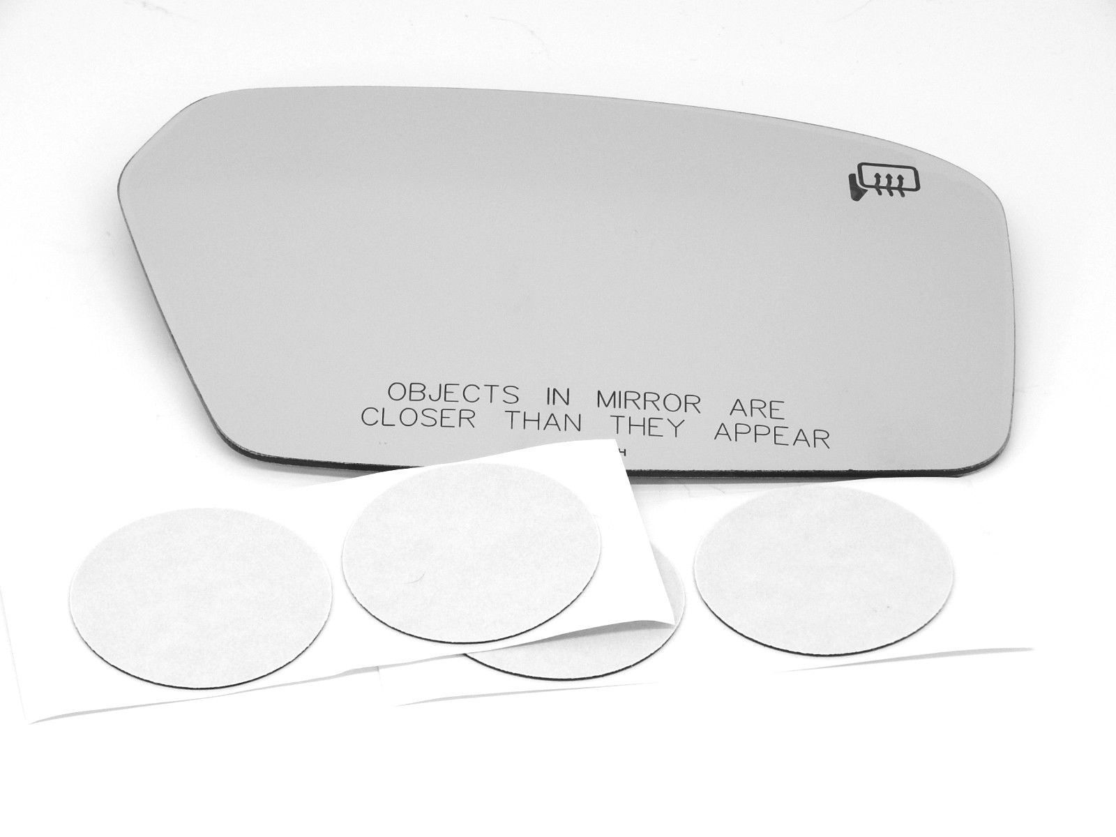 Fits 07-10 Linc MKZ 06-10 Fusion, Milan Right Pass Mirror Glass Lens Only Heated