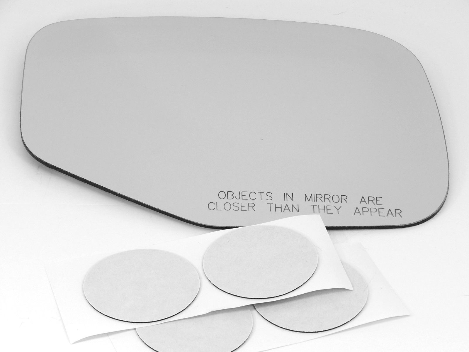 Fits 06-14 Ridgeline Right Pass Heated Convex Mirror Glass Lens w/Adhesive USA