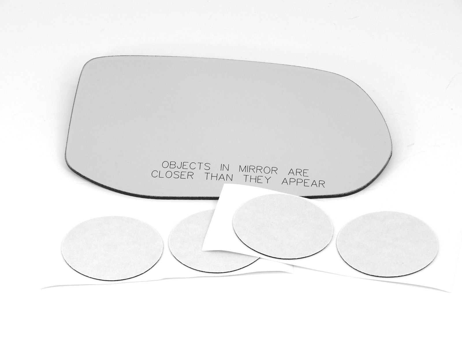 Fits 08-11 Civic 4dr Sedan Right Passenger Heated Mirror (Glass Lens Only)
