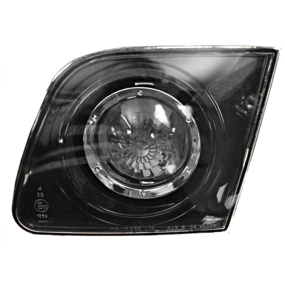 FITS 04-06  MAZDA 3 SEDAN RT PASS BACK-UP LAMP ASSM LID MOUNTED, CLEAR LENS