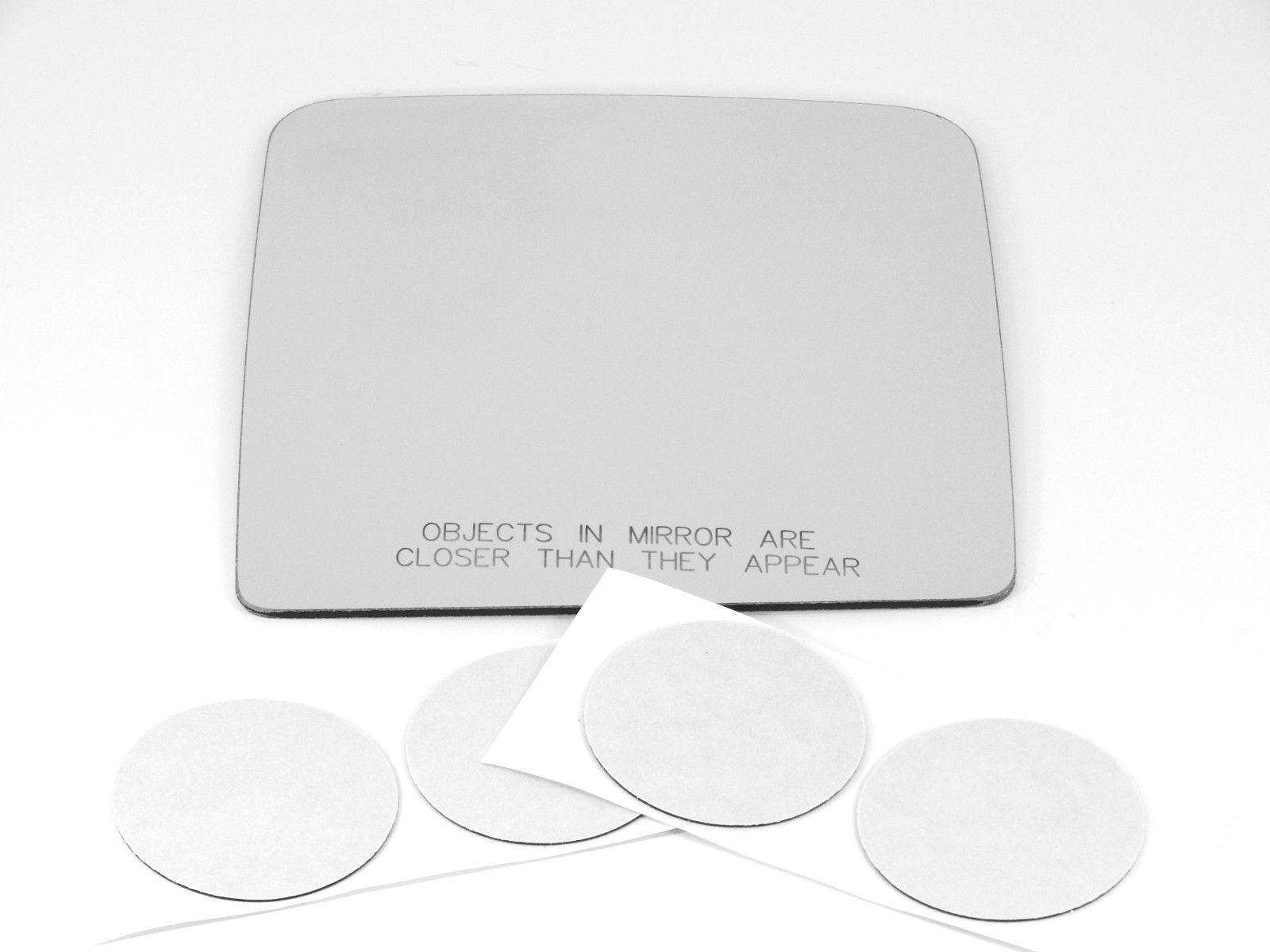 Fits 07-17 Wrangler Right Passenger Convex Mirror Glass Lens w/Adhesive  USA