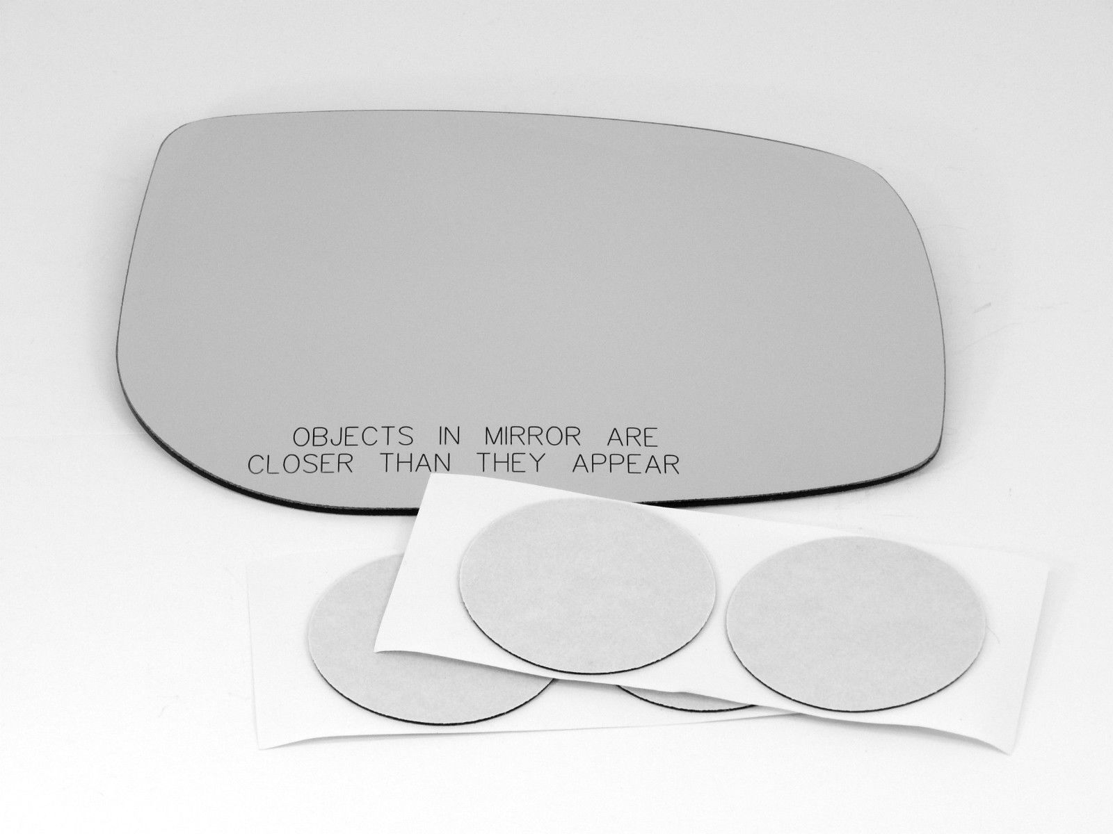 Fits 06-(12*) Yaris 08-14 Scion xD Right Pass Mirror Glass Lensv w/Adhesive   USA