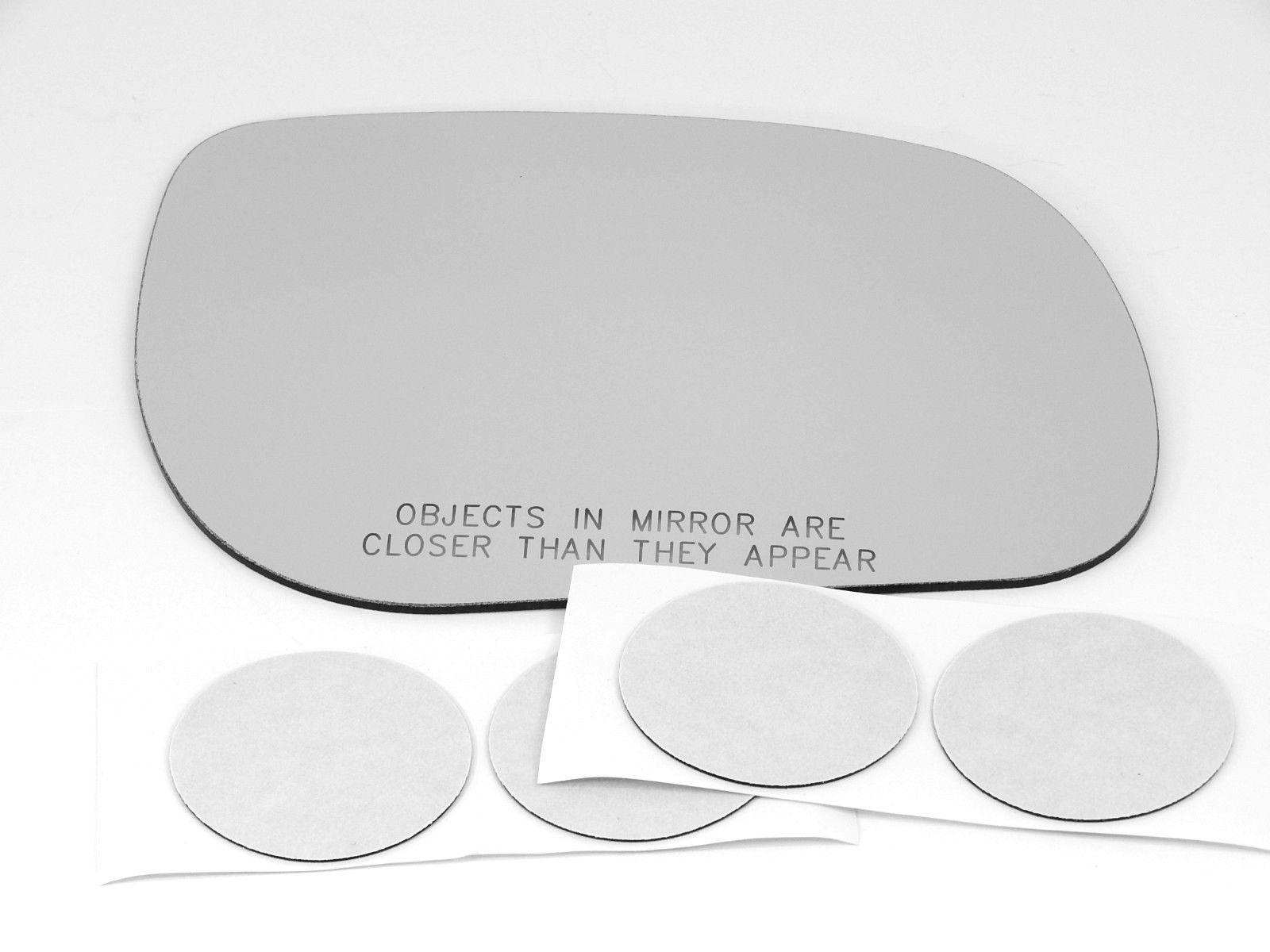 Fits 06-12  Rav4 Right Passenger Convex Mirror Glass Lens  w/Adhesive   USA