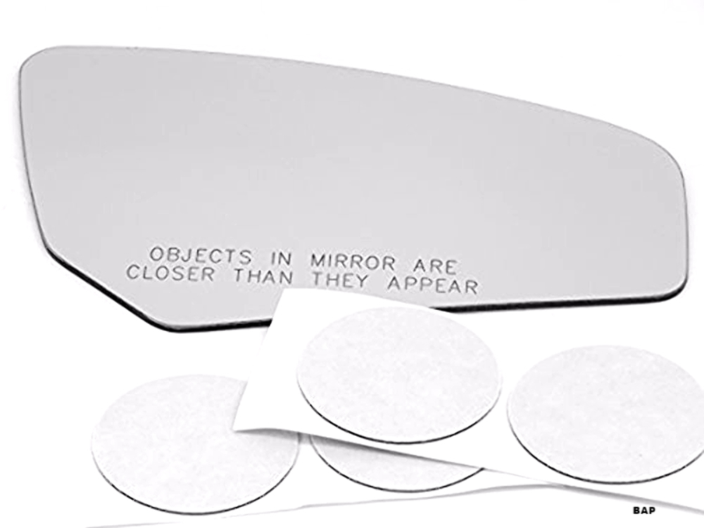 Right Passenger Convex Mirror Glass Lens w/ Adhesive Fits 07-12 Nis Sentra