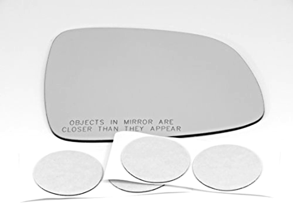 Fits 07-13 Suzuki Sx4 Right Pass Convex Replacement Mirror Glass Lens w/Adhesive