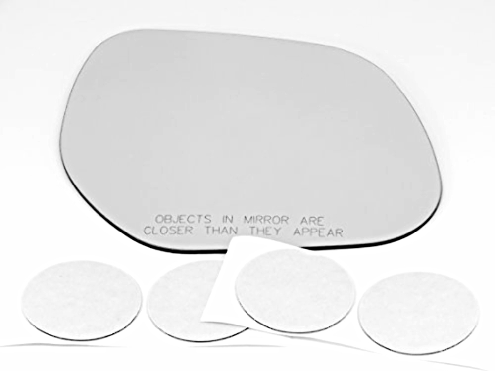 Fits 07-11 Outlander* 11-15 Sport Right Pass Mirror Glass Lens w/Adhesive