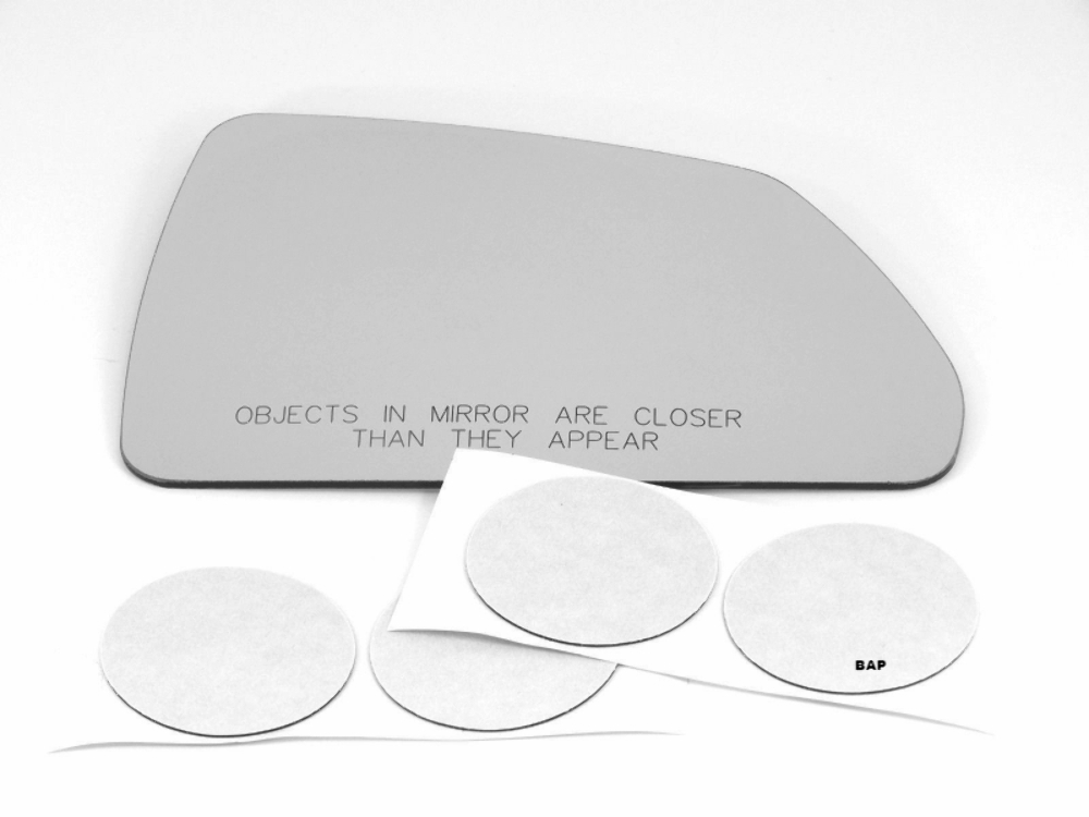 Fits 08-13 Cadillac CTS Right Pass Mirror Convex Glass Lens Heated 08-15 Wagon