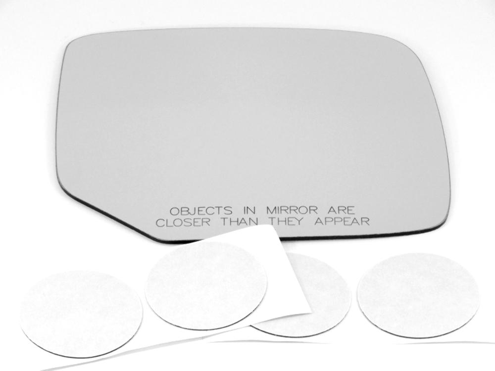 Fits 09-15 Pilot Right Passenger Convex Mirror Glass Lens w/Adhesive  USA