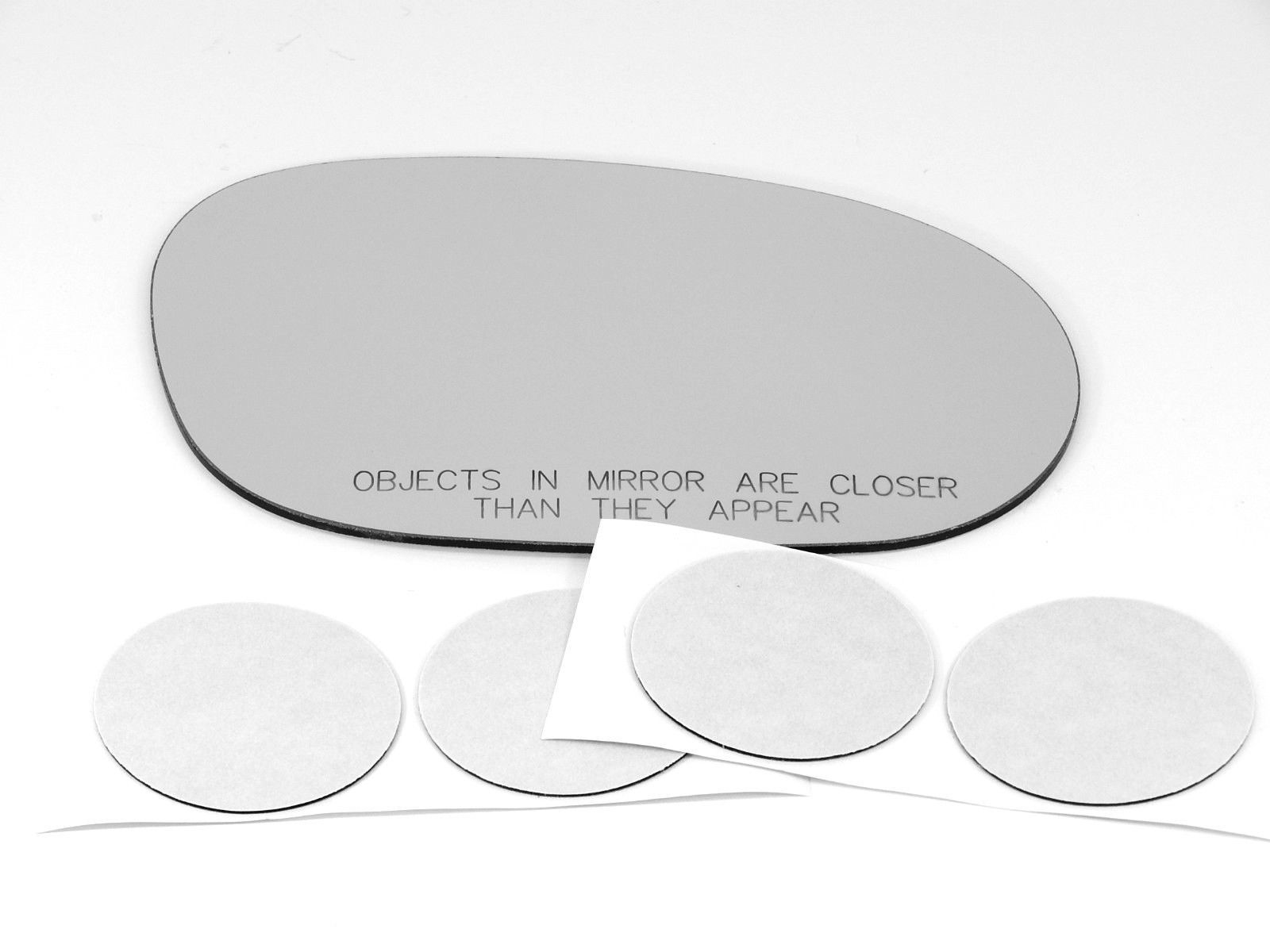 Fits 08-19 Challenger Right Passenger Convex Mirror Glass Lens w/ Adhesive USA