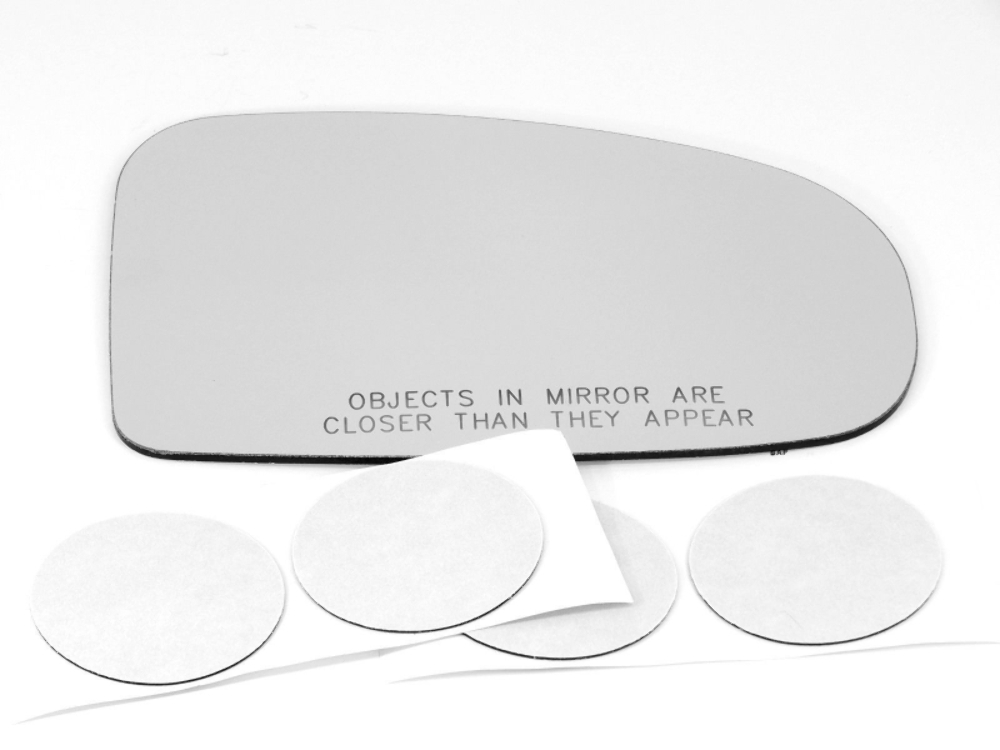 Fits 10-15  Prius Right Pass Convex Mirror Glass Lens  w/Adhesive also Plug-in