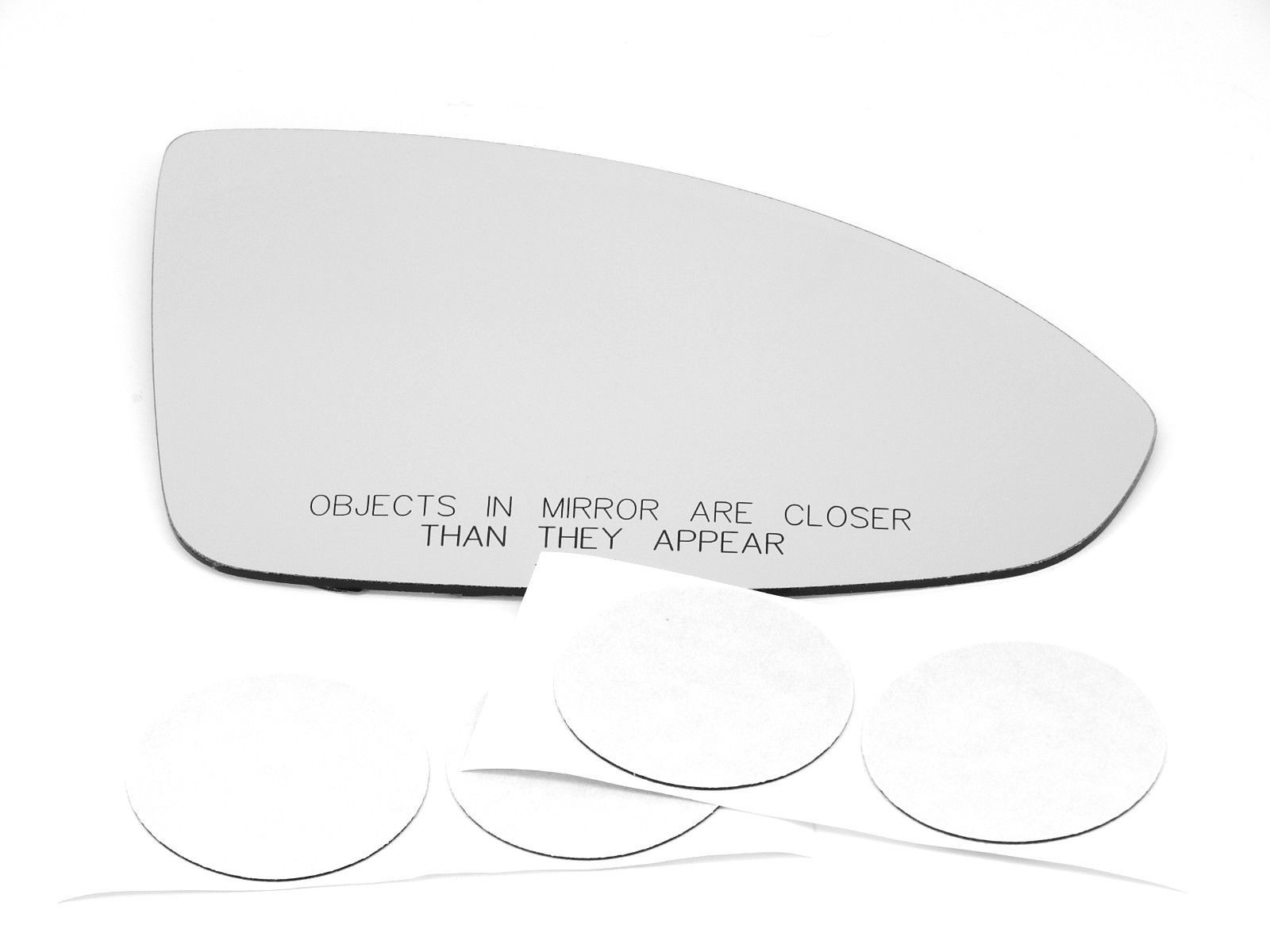 Fits 11-15 Cruze Right Pass Heated Mirror Glass Lens w/Adhesive 2016 Limited