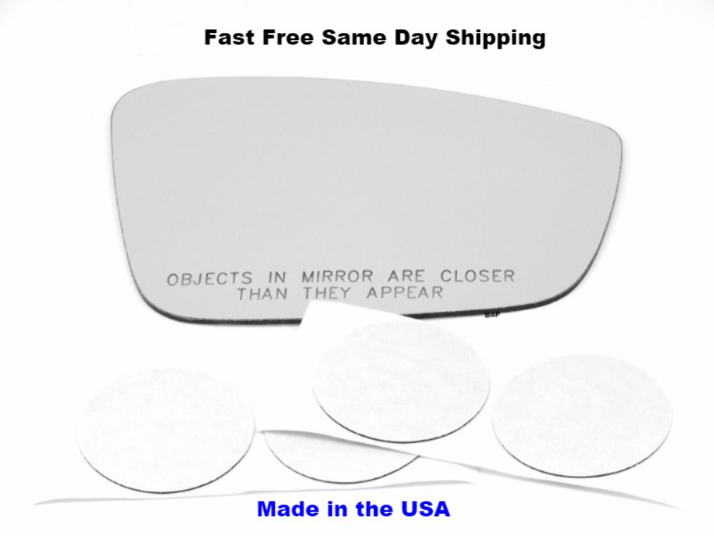 Rear Holder OEM Fits 12-18 Taurus Right Pass Mirror Glass Heated w// Small Spot