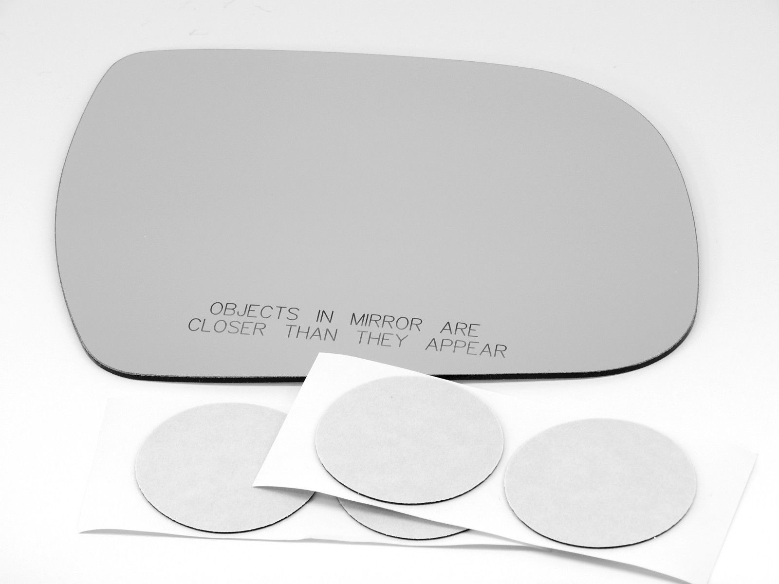 Fits 11-14 Sienna Right Passenger Convex Mirror Glass Lens Non Heat    USA