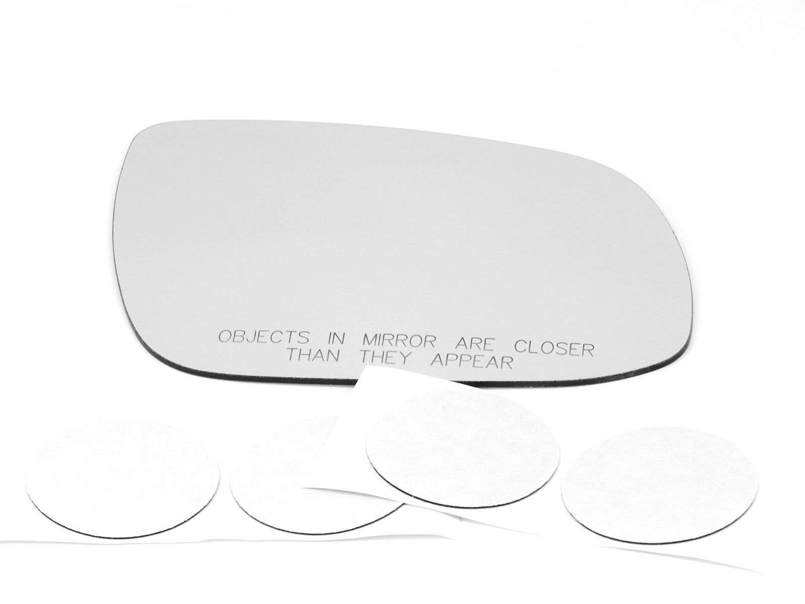 Fits 11-13 Forte Right Passenger Convex Mirror Glass Lens w/Adhesive  USA