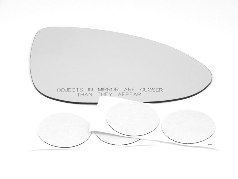 Right Pass Manual Mirror Glass Lens w/o original spot mirror for 12-19 Sonic