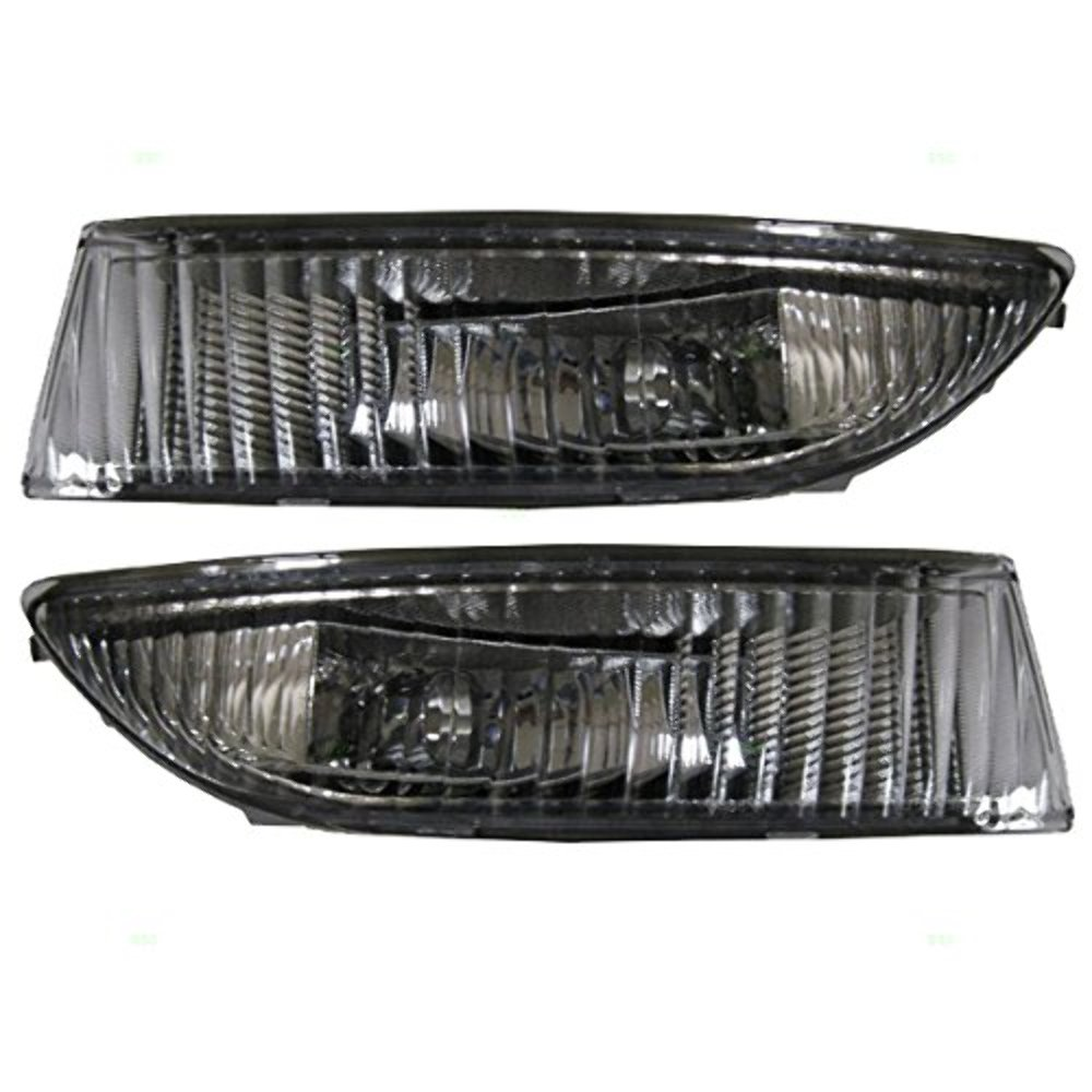 Fits 03-04  Avalon Left & Right Fog Lamp Assemblies - Pair