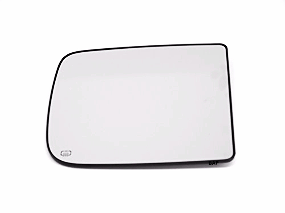 Fits 09-18 Ram 1500, 10-12 2500, 3500 Right Pass Upper Tow Mirror Glass Heated w/Rear Holder OE