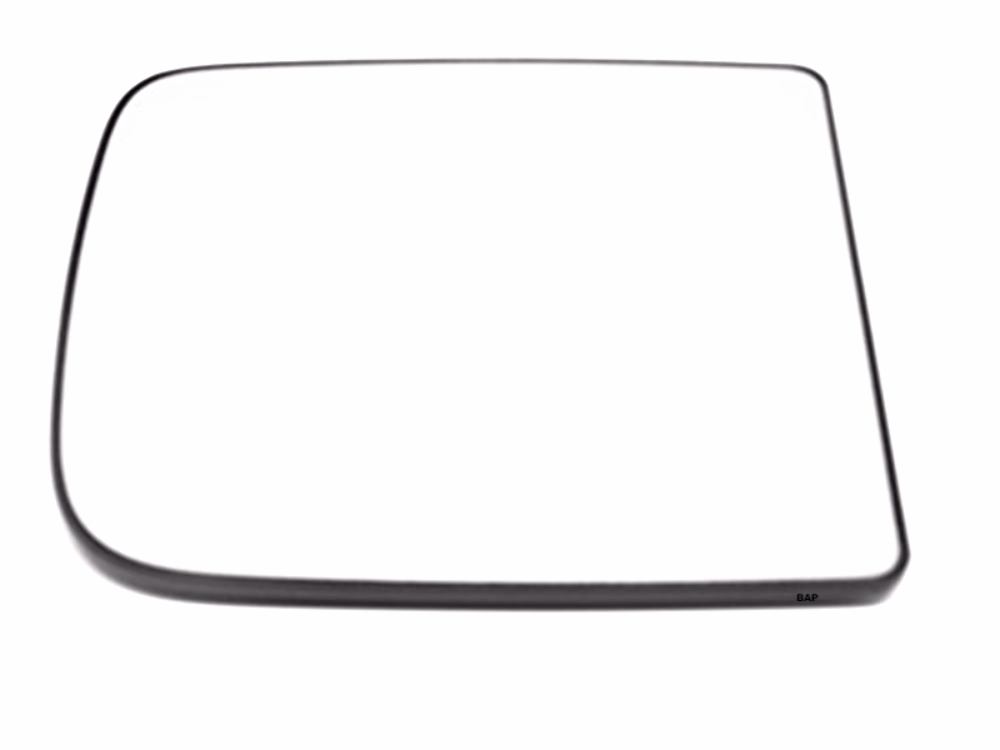 Fits 10-18 Ram 2500, 3500, 4500 Right Passenger Upper Manual Tow Mirror Glass w/ Rear Backing Plate OE