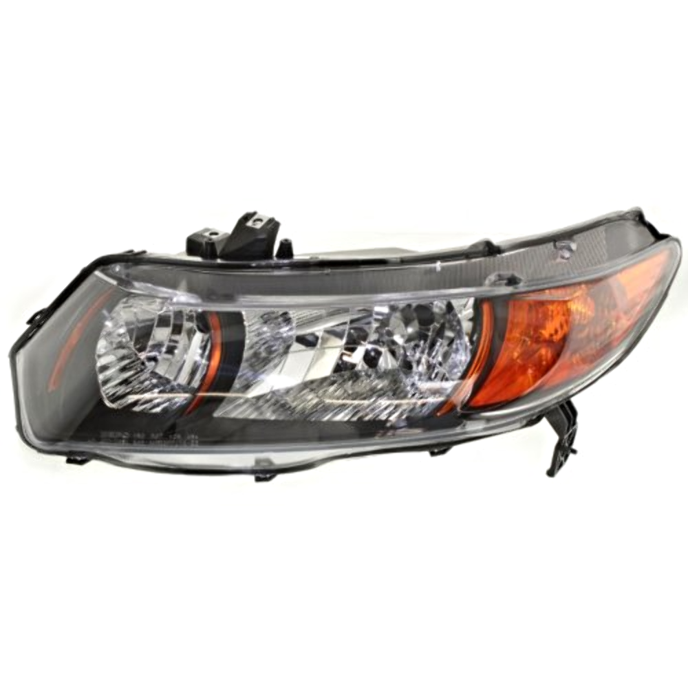 Fits 06-09  Civic Coupe Si 2.0L Left Driver Headlamp Assembly w/Amber Signal