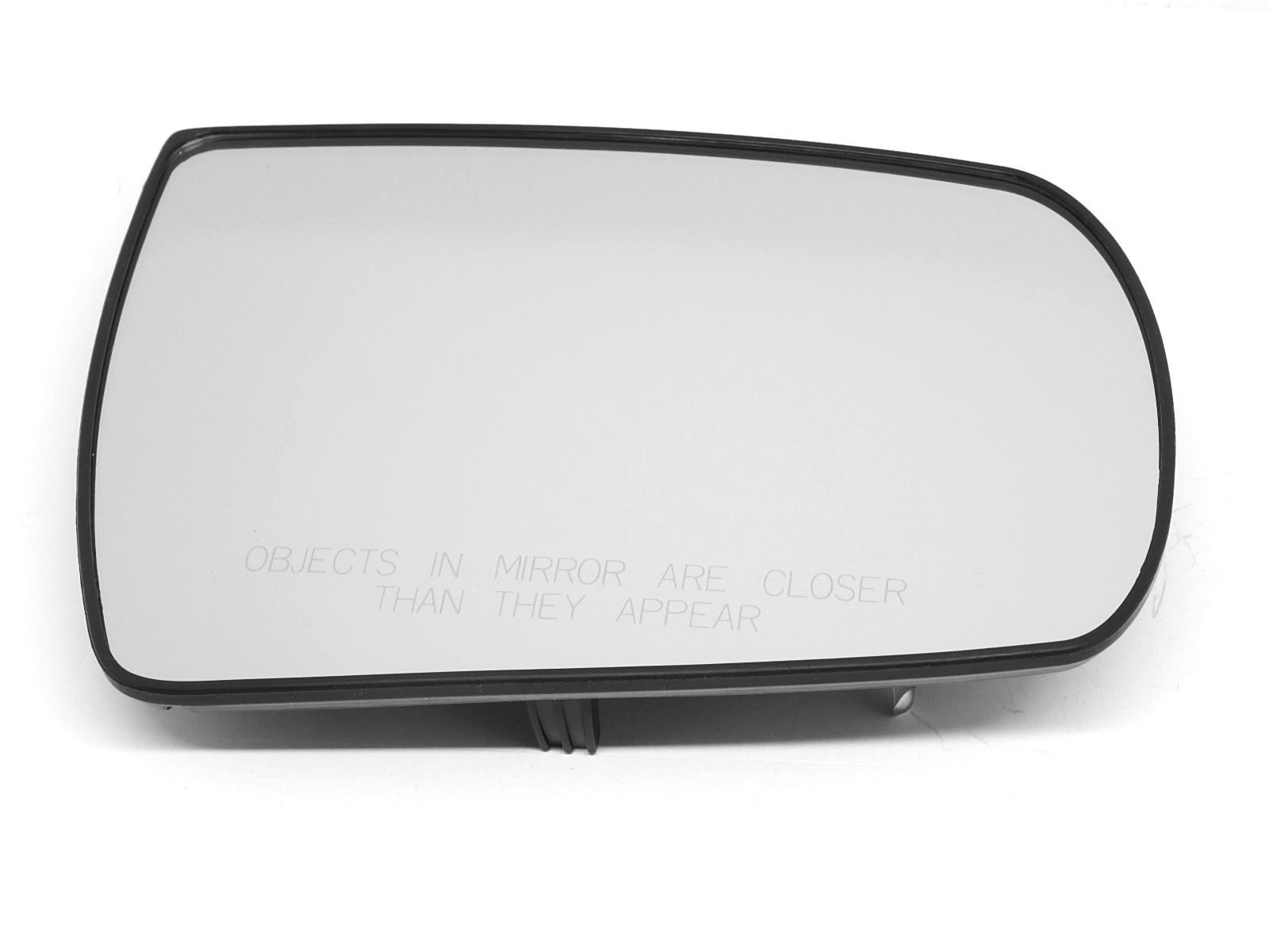 Fits 11-13 Sorento Right Pass Mirror Glass w/ Rear Mount Plate OE non heated
