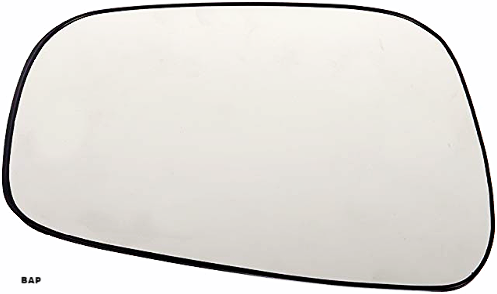 Fits  05-17 Frontier,  05-12 Pathfinder,  05-15 Xterra,  09-11  Equator Left Driver Mirror Glass w/ rear mount backing plate OE