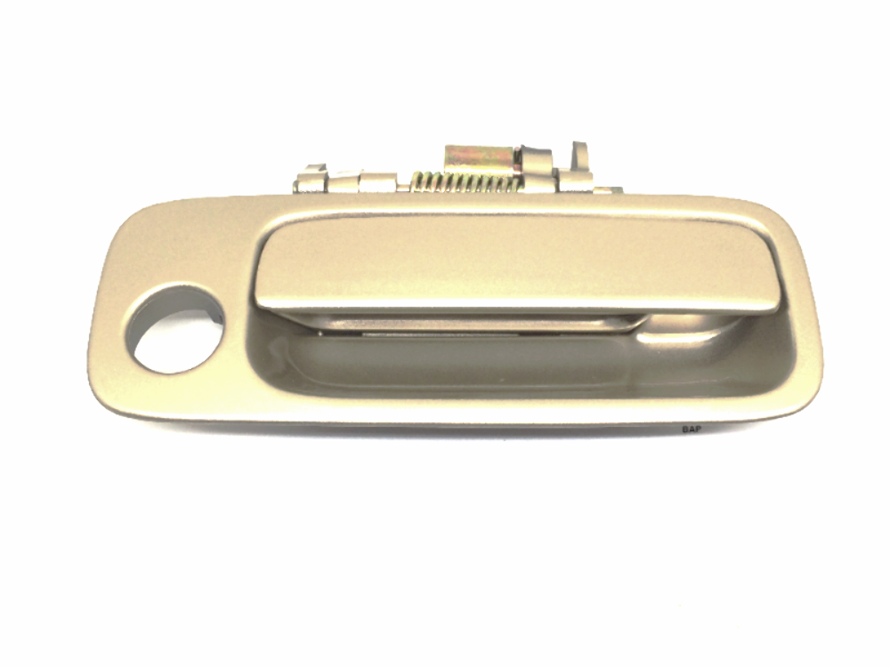 Fits 97-01 Camry Painted Right Pass Front Exterior Door Handle Beige Paint Code 4M9