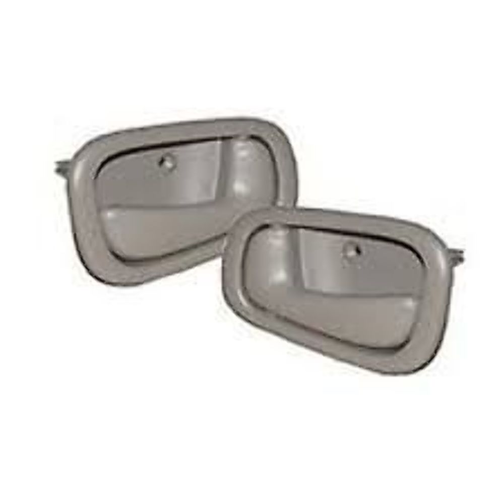 Fits 98-02 Corolla Prism Left & Right Manual Front / Rear Int. Door Handle Grey Set 2