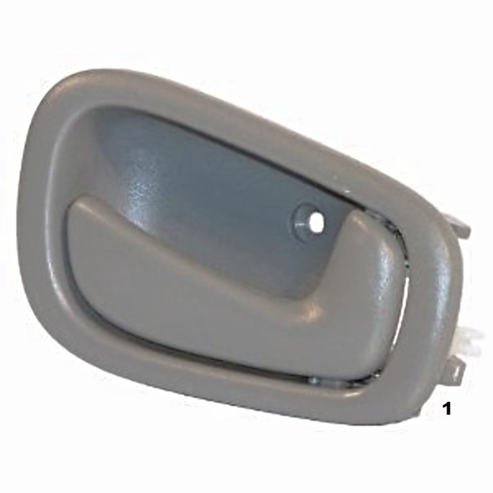 Fits 98-02 Corolla Prism Right Pass Manual Front / Rear Interior Door Handle Grey