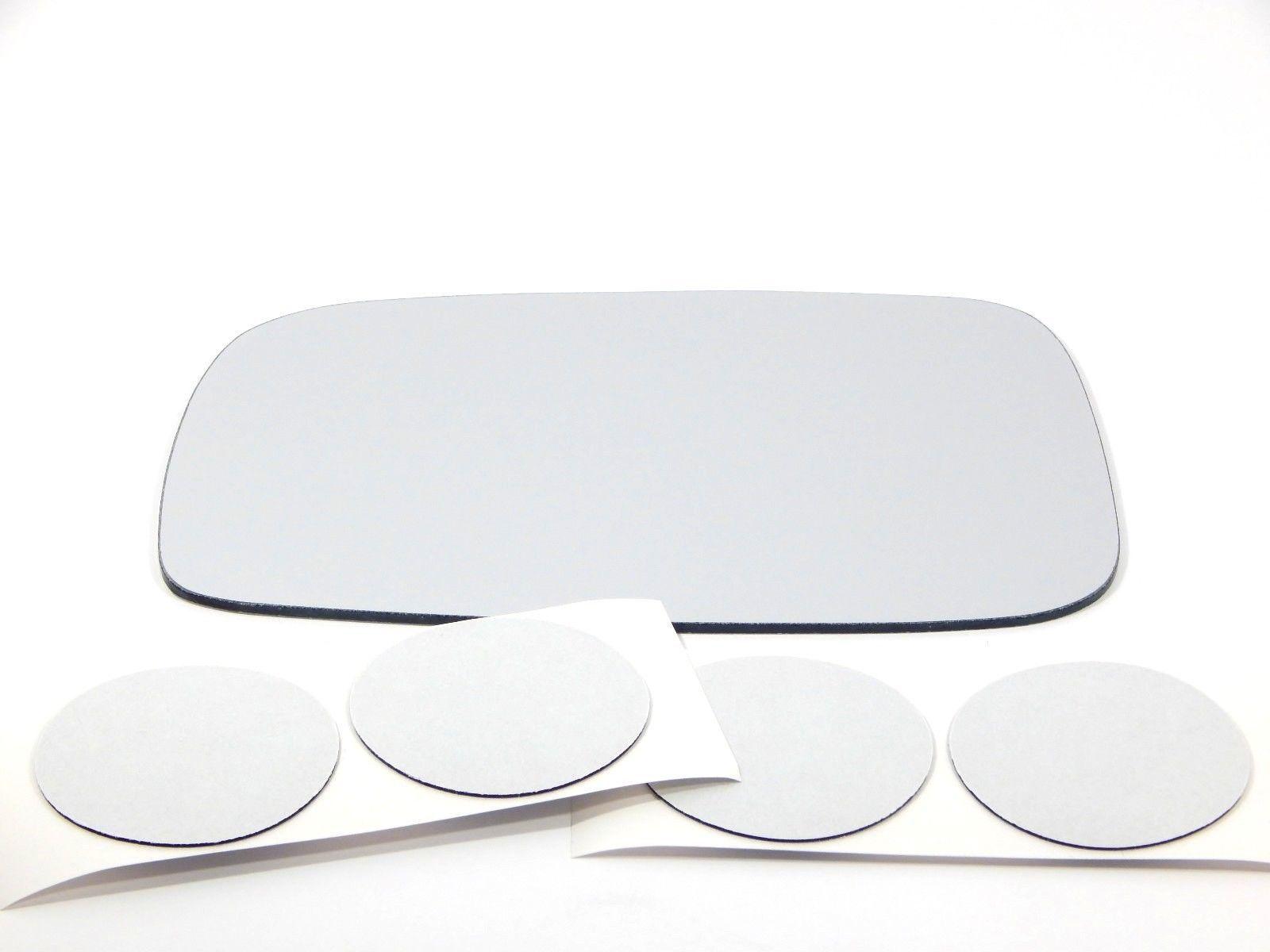 Fits 05-10 Scion Tc 06 xA Left Driver Mirror Glass Lens w/ adhesive